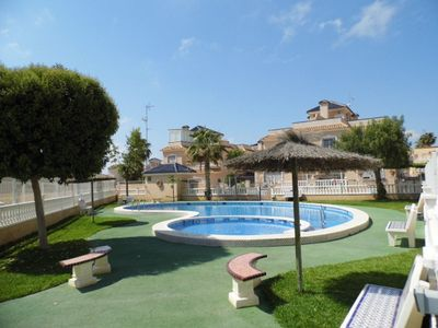 Photo for Sunny south facing Villa Overlooking swimming pool. FREE WI-FI.