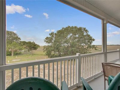 Photo for Spectacular Marsh and River Views with a Screened in Porch