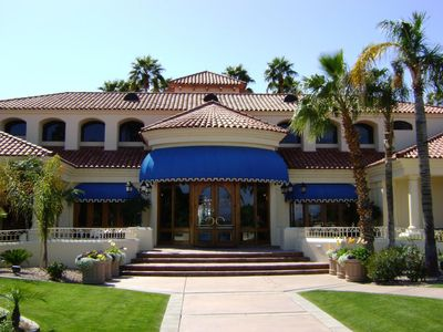 Photo for 2 Bedroom Townhouse In A Beautiful Resort Like Setting -  Val Vista lakes
