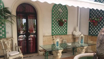 Photo for HISTORIC CENTER OF LECCE, an apartment of 120 m2 and its flowery patio