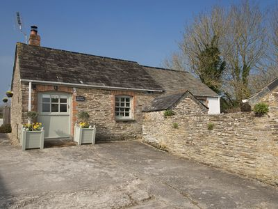 Photo for STABLE COTTAGE - Near Padstow, great restaurants, pet friendly, beaches, patio
