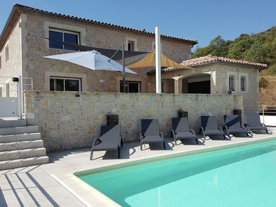 Photo for Air-conditioned villa with fenced pool and guest house in a beautiful setting