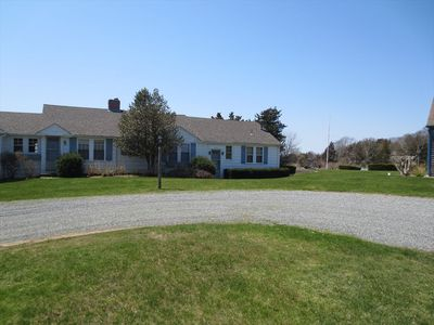 Photo for WEST FALMOUTH, DOCK, SLEEPS 10, 1 MILE TO BEACH