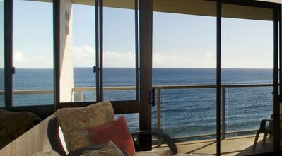 Photo for Stunning Oceanfront Condo with A/C...... You Will Not Be Disappointed