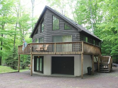 Photo for Family Friendly Chalets In The Beautiful Pocono Woods, 5 Min From The Big Lake