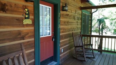 Photo for Baird's Creek Cabin ~ Cozy Cabin, Close to Golf, Creekside