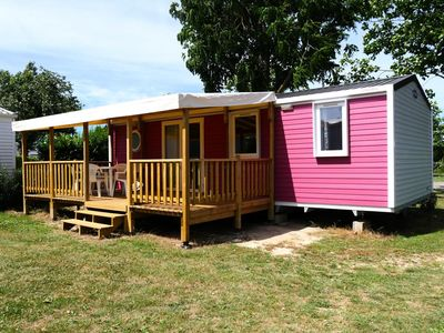 Photo for Camping La Bolée d'Air **** - Mobil-Home Caribbean TV 3 Rooms 4/6 People