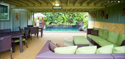 Photo for Perfect Paradise~Sleeps 14~House & Cottage~Heated Pool~Hot Tub~Waterfall~Steps to Amazing Beach!