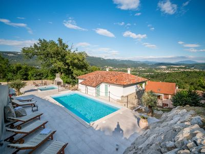 Photo for This 6-bedroom villa for up to 14 guests is located in Buzet and has a private swimming pool, air-co