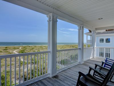 Photo for Bellamy House – Getaway to this Wrightsville Beach oceanfront classic cottage