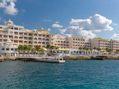 Cozumel Palace from the water