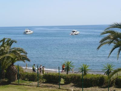 Photo for Andalusia - Costa del Sol - Estepona - New Golden Mile - Right on the beach