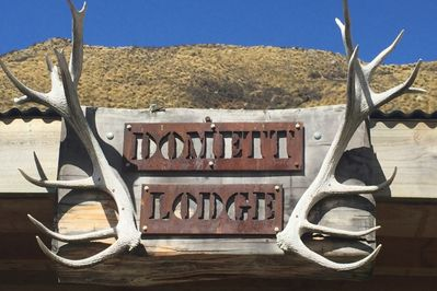 Domett lodge sign