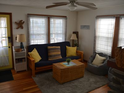 Photo for 5BR Cottage in ♥ of HB | Two Parking Spots, Porch, Grill, TV,  + Outdoor Shower!
