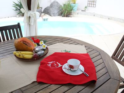 Photo for Creole house *** with heated pool + jacuzzi- Ideal to discover the island
