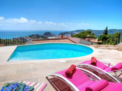 Photo for Tossa de Mar Holiday Home, Sleeps 8 with Pool and WiFi
