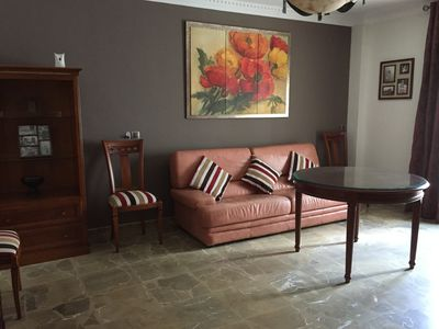 Photo for Spacious apartment in Calle San Pedro, next to the central Plaza de Santiago