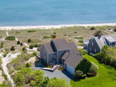 Photo for #715: Waterfront on Private Sandy Beach, Spectacular Views of Nantucket Sound!