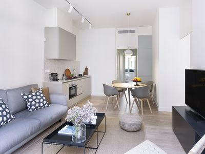 Photo for BROSSA: New and design apartment with 2 bedrooms, 2 bathrooms and large terrace