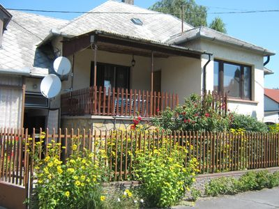 Holiday apartment with garden and barbecue facilities