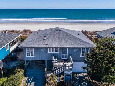 Photo for Loony Dunes: 4 Br / 3 Ba Oceanfront In Topsail Beach, Sleeps 8