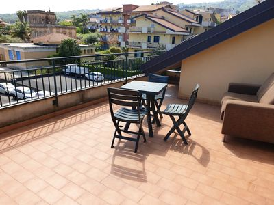 Photo for Homerez last minute deal - Nice apt with terrace and Wifi