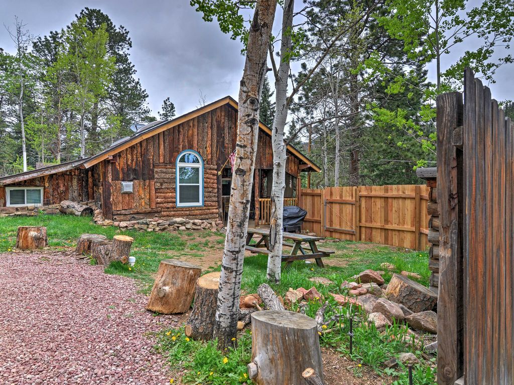 starry nights u0027 3br green mountain falls homeaway green