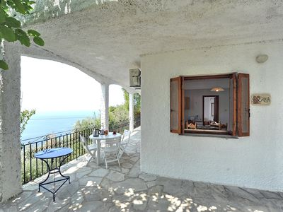 Photo for Villa ERIKA+VERONICA. Private access to the sea. Privileged view of the Egean.