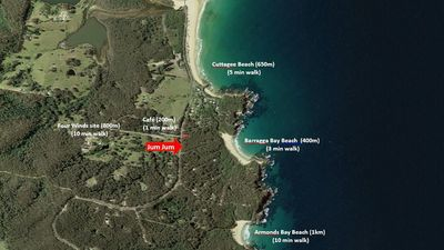 Photo for JUM JUM: 3502 Tathra-Bermagui Road- Luxury bush property close to the beach!