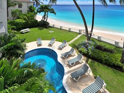 Photo for Amazing Beachfront Condo With Pool On Tranquil Worthing Beach - Leith Court #12