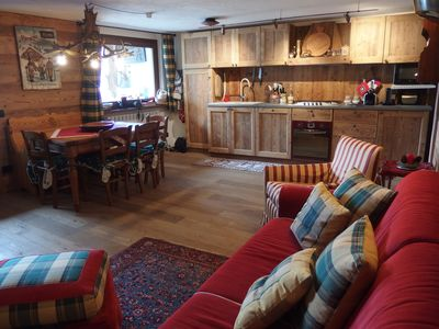Photo for 2BR Chalet Vacation Rental in La Salle, Aosta