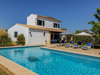 Photo for Traditional Finca with nice outside area, air conditioning, quiet location and p