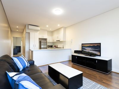 Photo for Convenient modern apartment in inner city