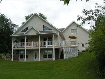 5000+ Sq Ft Secluded Riverfront Home on 2 Acres of Woodland