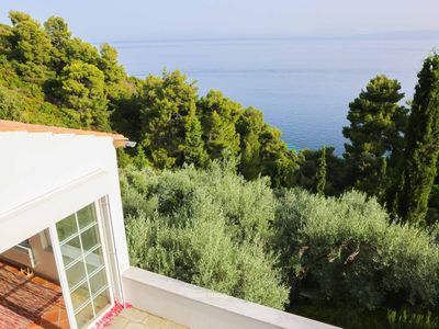 Photo for Quiet Sea View Villa in Kalamaki