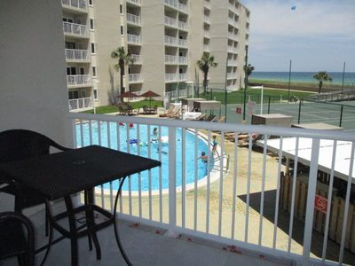 Photo for Holiday Surf Unit 208 Gulf Front 2 bdrm