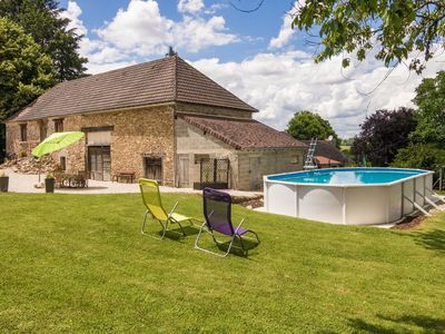 Photo for In the middle of the French Campagne, large garden and swimming pool!