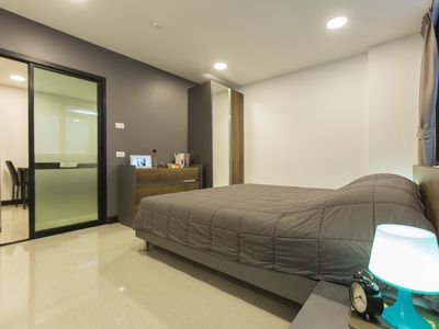 Photo for BTS Nana: 1-Bedroom, Fully-Furnished [Free Wifi]
