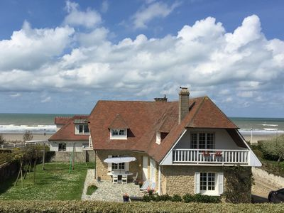 Photo for Beautiful house with large south facing garden, on the beach in Deauville