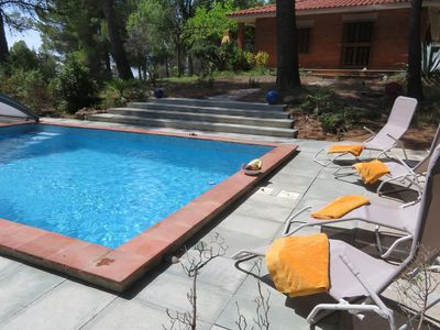 Photo for Beautiful Holiday Home in Font-rubi with Private Pool