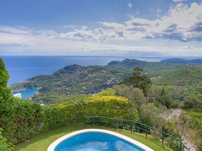 Photo for EL COLOMAR-villa with sea views and private pool-Begur-Costa Brava