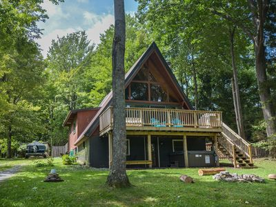 Photo for Charming, Dog Friendly A-Frame Close to Activities!