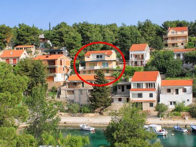 Photo for Apartment in Basina (Hvar), capacity 4+0
