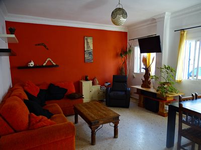 Photo for Spacious flat 6p, ideal situation and private parking