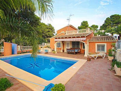 Photo for Concha - holiday home with private swimming pool in Moraira