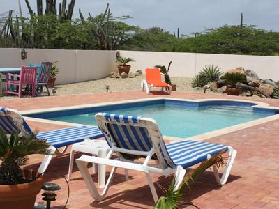 Photo for Aruba Paradise Villa private pool backyard minutes to Palm Beach and more