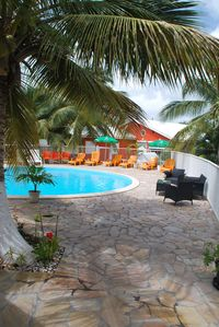 Photo for The idyllic Bungalows Tropic holidays in Le moulin 3min from the beach