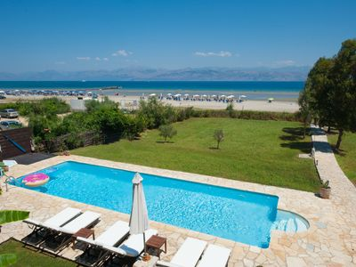 Photo for Beachfront Luxury Villa with Heated Private Swimming Pool and Wheelchair Access