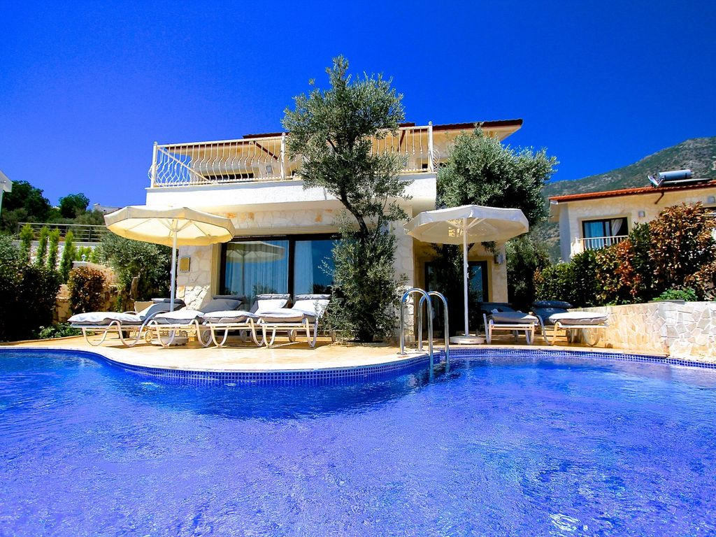 Villa Aphrodite Likya View Three Bedroom Villa Sleeps 6 Kalkan Antalya Province Turkish