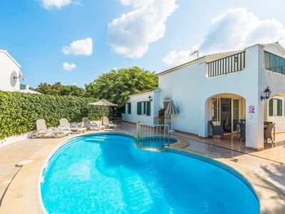 Photo for Villa Elizabeth: Large Private Pool, Walk to Beach, A/C, WiFi, Car Not Required